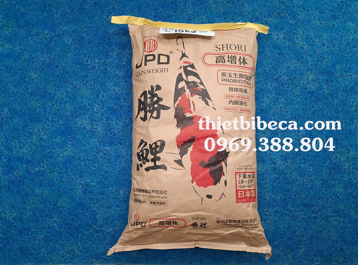 Thức ăn cá Koi JPD SHORI bao 15kg
