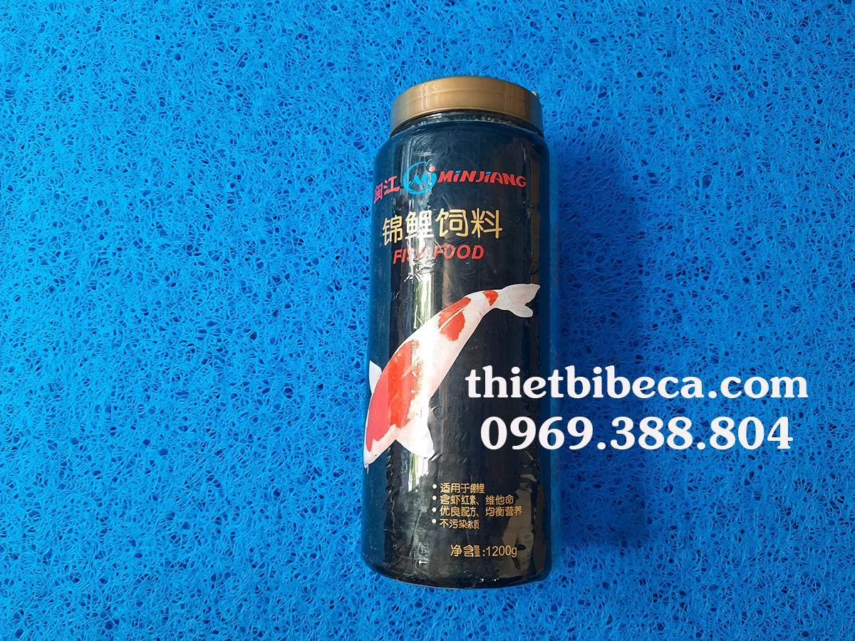 Thức ăn cá Koi Minjiang 1200g