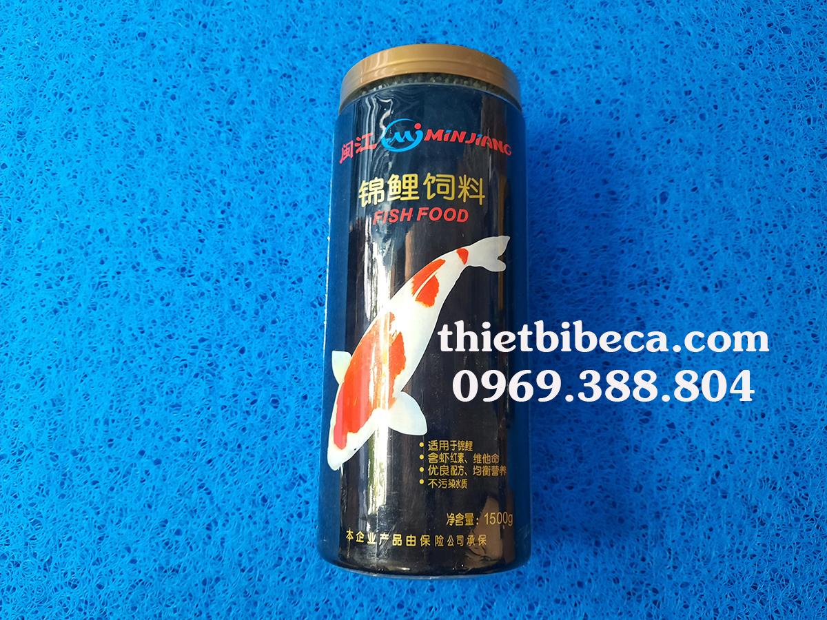 Thức ăn cá Koi Minjiang 1500g