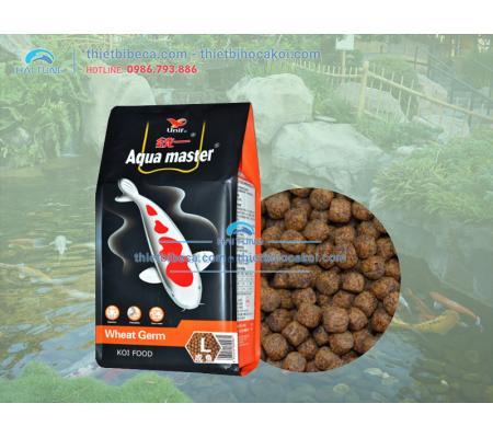 Thức ăn cá KOI mùa đông Aquamaster Wheat Germ (5kg)