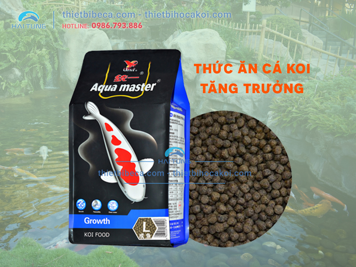 Thức ăn cá KOI tăng trưởng Aquamaster Growth (5kg)