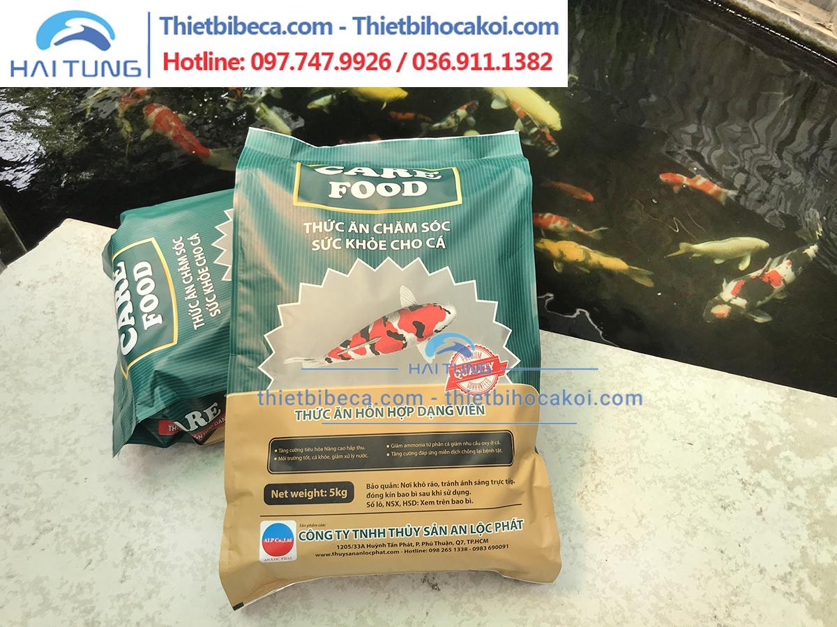 Thức Ăn Cá Koi Tăng Trưởng Care Food Growth Balance chìm 5kg