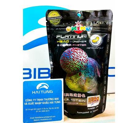 Thức ăn cá La Hán Okiko Platinum 100g