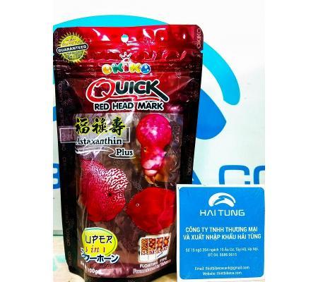 Thức ăn cá La Hán Okiko Quick 100g