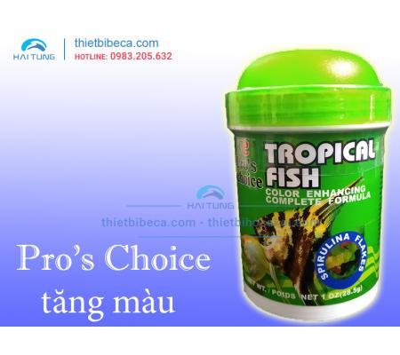 Thức ăn cá nhỏ Pro's Choice Tropical Fish dạng lá 28.5g