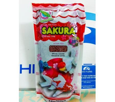 Thức ăn Sakura 28% 250g