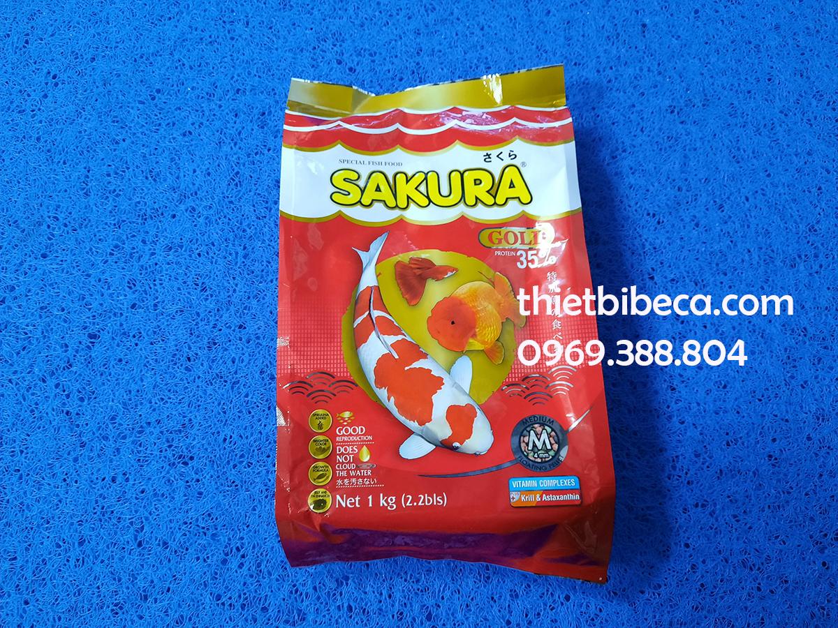 Thức ăn Sakura 35% 1000g