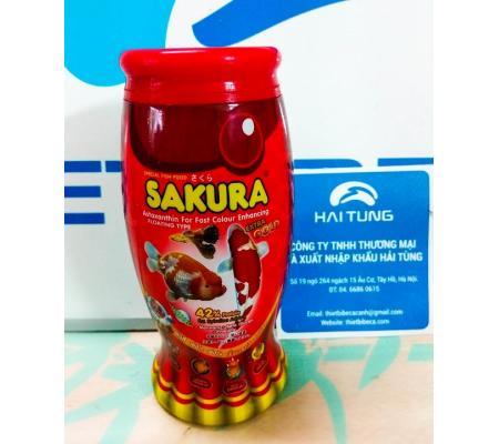Thức ăn Sakura 42% lọ 50g