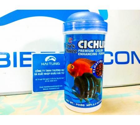 Thức ăn cá Ali Pro's Choice Cichlid dạng hạt 120g