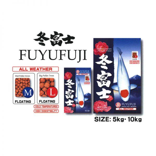Thức ăn cá Koi JPD Fuyufuji bao 15kg