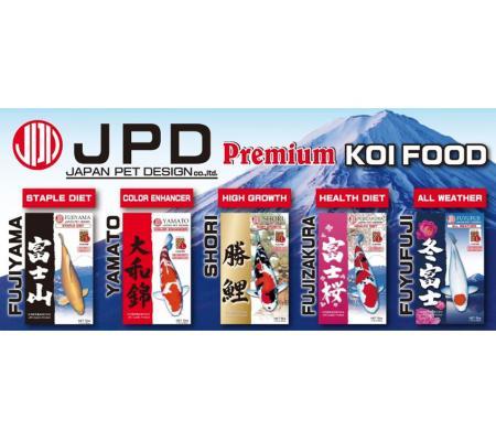 Thức ăn cá Koi JPD Fujiyama bao 10kg
