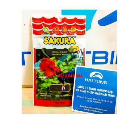 Thức ăn cá chọi Sakura 20g 2 gói