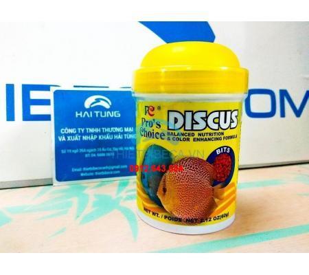 Thức ăn cá đĩa Pro 's Choice Discus dạng hạt 60g