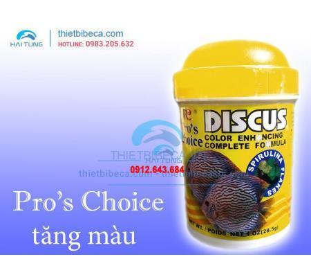 Thức ăn cá đĩa Pro's Choice Discus dạng lá 28g