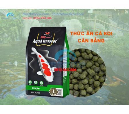 Thức ăn cá KOI cân bằng Aquamaster Staple (5kg)