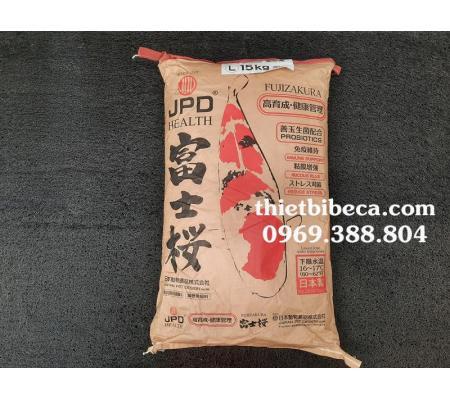 Thức ăn cá Koi JPD Fujizakura bao 15kg