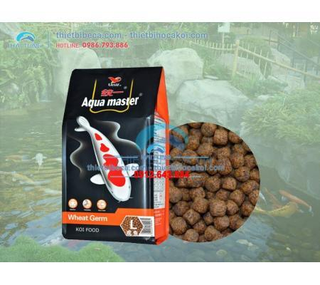 Thức ăn cá KOI mùa đông Aquamaster Wheat Germ (5kg...