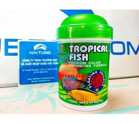 Thức ăn cá nhỏ Pro's Choice Tropical Fish dạng hạt 75g