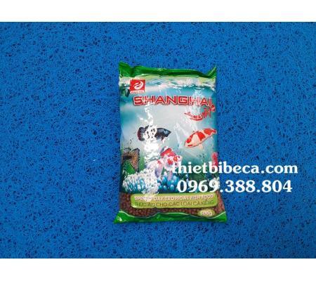 Thức ăn cá Shanghai 500g