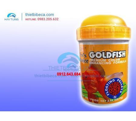 Thức ăn cá vàng Pro's Choice Goldfish dạng hạt 75g
